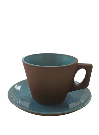 Gray-Blue Nescafe Mug-Rakle